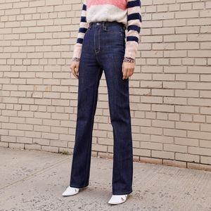 La Vie Rebecca Taylor Mireille High Rise Jeans 30